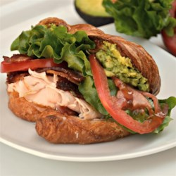croissant club sandwich printer friendly