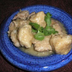 Pork and Dumplings Recipe
