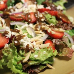 Emily's Strawberry Balsamic Salad Recipe