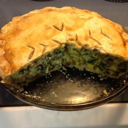 Italian Spinach Sausage Pie Recipe