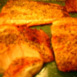 Cats Baked Salmon