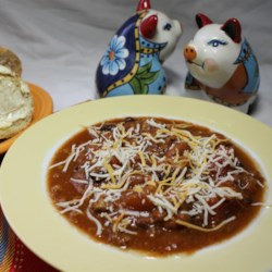 Mild-Mannered Chili Recipe