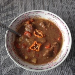 Hot and Spicy Habanero Beef Stew Recipe