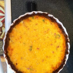 Ham and Hash Brown Quiche Recipe