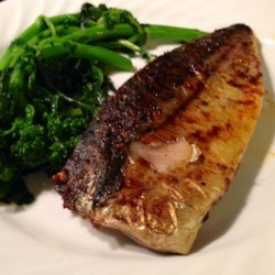 Broiled Spanish Mackerel Recipe