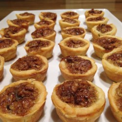 Tiny Pecan Tarts Recipe
