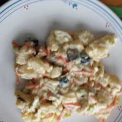 Julie's Crunchy Potato Salad  Recipe
