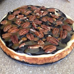 Chocolate Turtles(R) Cheesecake