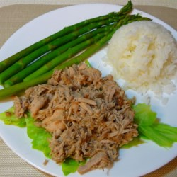 Homestyle Kalua Pork with Cabbage in a Slow Cooker Recipe