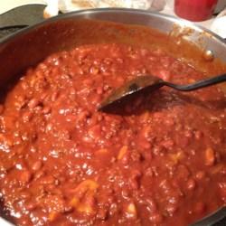 Fruity Chili Recipe