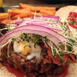 Homemade Black Bean Veggie Burgers photo by angelsoho - Allrecipes.com ...