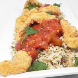 Picture of Fried Creole Catfish in the catfish recipes to enjoy