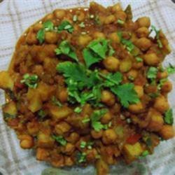 Sweet Potato and Chickpea Masala Recipe