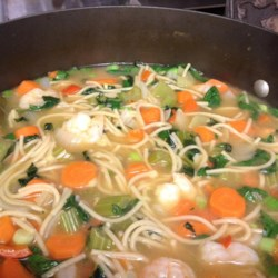 Asian-Style Chicken Noodle Soup Recipe