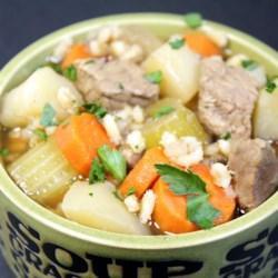 Alberta Beef Barley Stew Recipe
