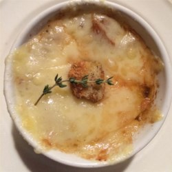 Quickie French Onion Soup Recipe