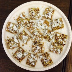 Cinnamon Pecan Cookie Bars Recipe