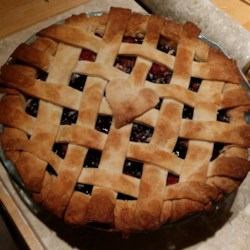 Blueberry Raspberry Pie Recipe