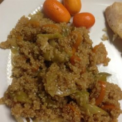 Quinoa with Kumquats and Leeks Recipe