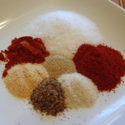 Cajun Spice Seasoning Mix in a Jar Recipe