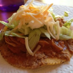 Chicken Tinga Tostados Recipe