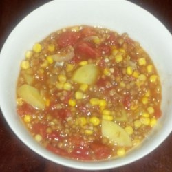 Colombian Lentils Recipe