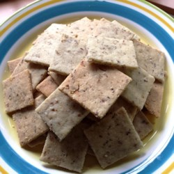 Almond 'You Must Be Nuts!' Crackers Recipe