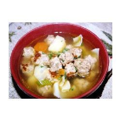 Chicken Meatball Soup Recipe
