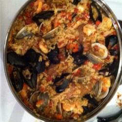 Maria's Classic Paella Recipe