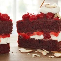 Red Velvet Cherry Torte Recipe