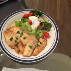 Tasty Sesame Tilapia Recipe