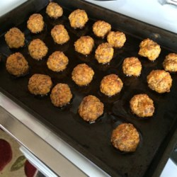 Carla's Sausage Cheese Balls Recipe