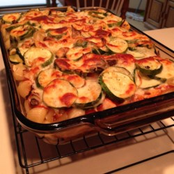 Roasted Zucchini Casserole Recipe