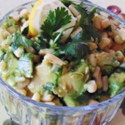 Crystal's Quick Avocado Salad Recipe
