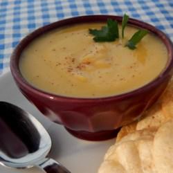 Creamy Delicata Squash Soup Recipe