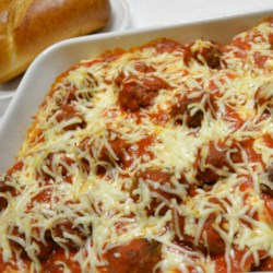 Chili dog casserole ii recipe allrecipes italian meatball sandwich casserole forumfinder Gallery