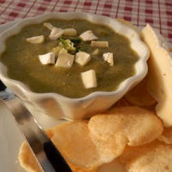 Zucchini Soup with Brie Cheese