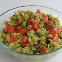 Vegan Avocado Pasta with Blackened Vegetables Recipe