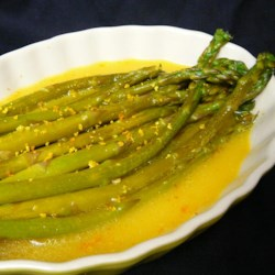 Orange-Glazed Asparagus Recipe