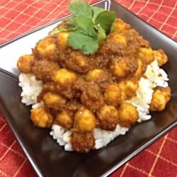 Chana Masala (Savory Indian Chick Peas) Recipe