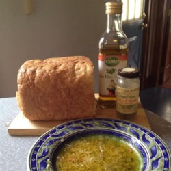 Olive Oil Dip for Italian Bread Recipe