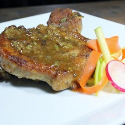 Pork Chops with Apple Cider Glaze Recipe