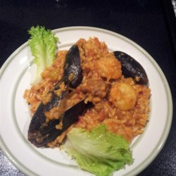 Shrimp, Sausage, and Fish Jambalaya Recipe