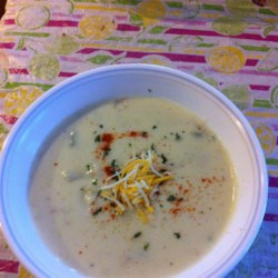 Clam Chowder III Recipe