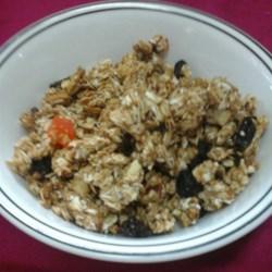 Crunchy Peanut Butter, Chocolate, Coconut Granola Recipe