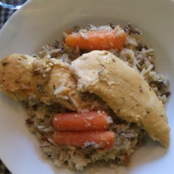 Chicken and Wild Rice Slow Cooker Dinner Recipe