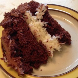 Coconut Chocolate Cake II