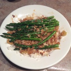 Stir Fried Asparagus