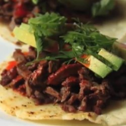 Grilled Spanish Mustard Beef  Recipe