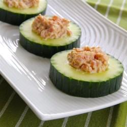 Ham Cucumber Cups Recipe